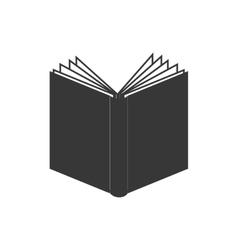 book open single read education graphic vector image