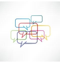 Chat box icon design vector