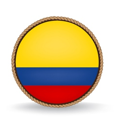 Colombia Seal vector image