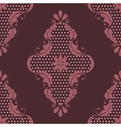 Damask seamless pattern element Elegant luxury vector