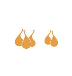 Dried fig vector