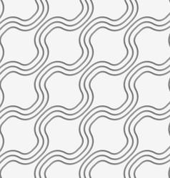 Perforated diagonal bulging waves vector
