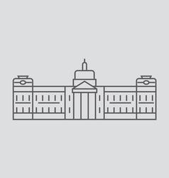 Port-Au-Prince vector image