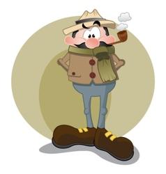 Sherlock Holmes vector image