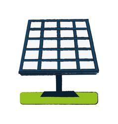 solar panel energy vector image