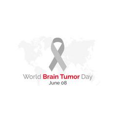World brain tumor day vector