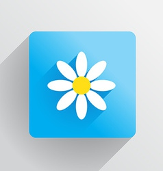 Flower Flat vector image vector image
