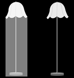 Two lamps vector image vector image