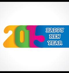 creative happy new year 2015 design stock vector image