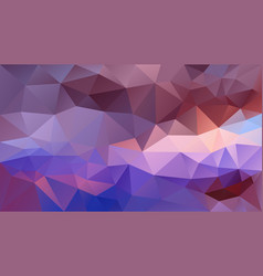 Abstract irregular polygonal background violet vector