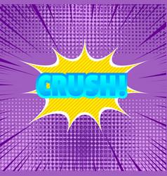 comic burst template vector image