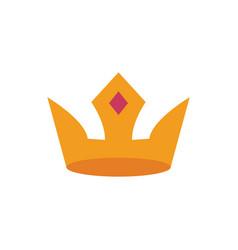 crown icon king icon vector image