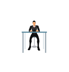 Customer service and front office vector