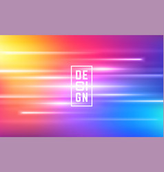 fluid colorful shapes composition trendy mesh vector image