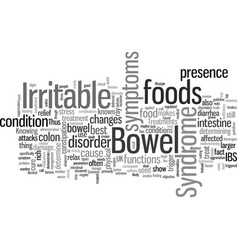Irritable bowel syndrome treatment uk vector