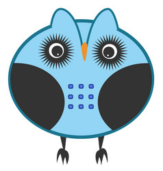 owl character vector image