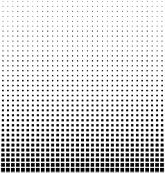 Rectangle halftone element monochrome abstract vector