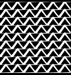 repeatable pattern with wavy zigzag lines vector image