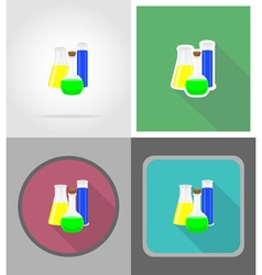 school education flat icons 07 vector image