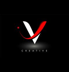 v letter design logo letter v icon logo with vector image