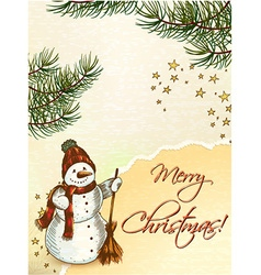 Christmas vecor vector image