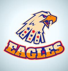 eagles logo vector image