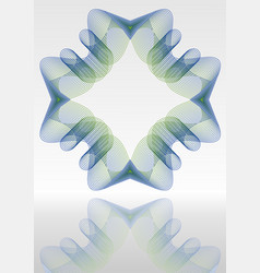 abstract background with mirror blue and vector image