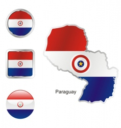 paraguay vector image vector image
