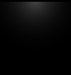 Black metal background with light from top and vector
