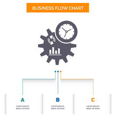 Business engineering management process business vector