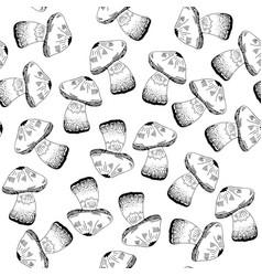 mashroom pattern vector image