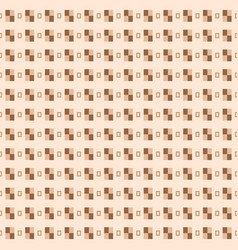 seamless pattern from rectangles vector image