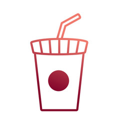 soda cup design vector image