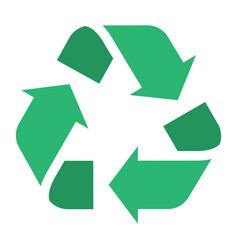 universal recycling international symbol vector image