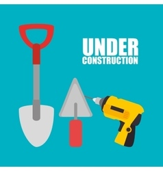 Web under construction design vector