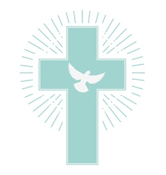 holy spirit vector image vector image