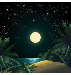 The Tropical Island vector image