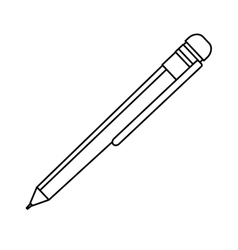 Isolated ballpoint pen vector image