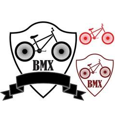 BMX vector image
