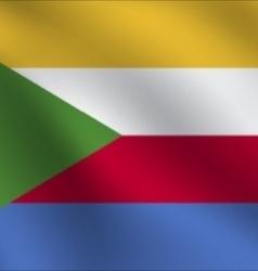 Comoros flag vector