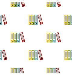 Folders pattern flat vector