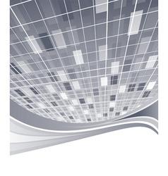 Hightech business template vector