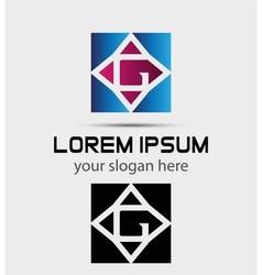 Letter G logo symbol - icon vector