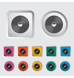 platter vector image