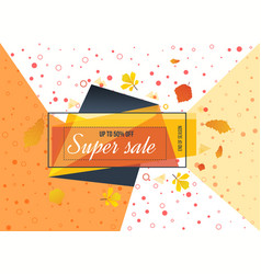 super sale special offer big sale special up to vector image
