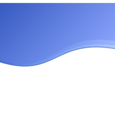 Blue and White Blank Abstract Background vector image
