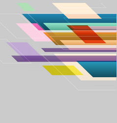 colorful straight lines abstract background vector image vector image