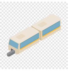 high-speed train isometric icon vector image