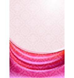 pink curtain silk tissueeps vector image