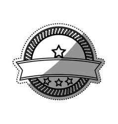 empty stamp label vector image